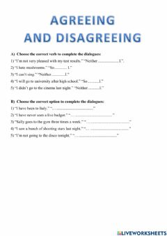 Interactive worksheet What a Coincidence!