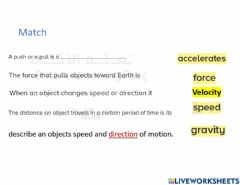 Interactive worksheet Moyion