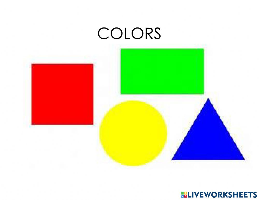 Colors Online Exercise For Preescolar