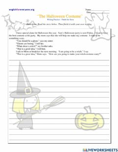 Interactive worksheet Finish the story - Present Simple
