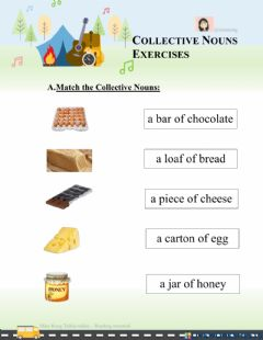 Interactive worksheet Collective Nouns