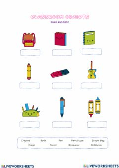 Interactive worksheet Schoolobjects
