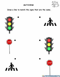 Interactive worksheet Road Safety