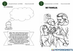 Interactive worksheet Mi Familia