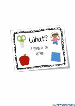 Interactive worksheet What questions