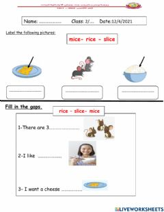 Interactive worksheet Label the pictures & Fill in the gaps