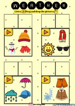 Interactive worksheet My clothes2