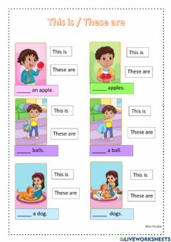 Interactive worksheet This is - these are