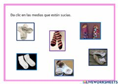 Interactive worksheet Medias sucias