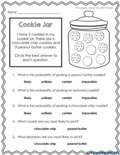 Interactive worksheet Probability Multiple Choice