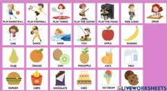 Interactive worksheet Vocabulary - Healthy life