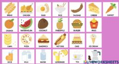 Interactive worksheet Vocabulary - My party