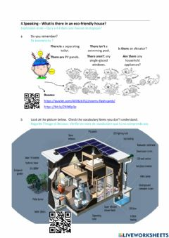 Interactive worksheet Reading - living in an eco-dome