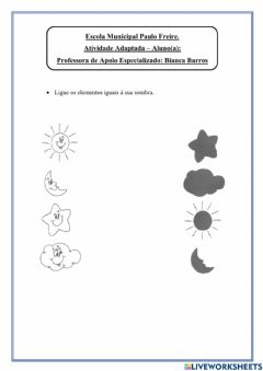 Interactive worksheet Dia e Noite