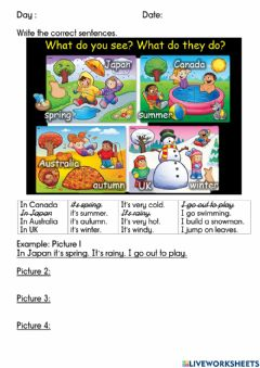 Interactive worksheet Module 4 SeYear in, Year out