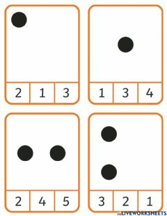 Interactive worksheet Count sets to 10
