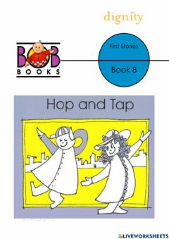 Interactive worksheet Bob Books First Stories- Lesson 8