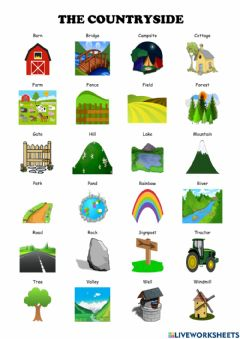 Interactive worksheet The countryside