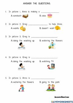 Interactive worksheet Reading Comprehension: Year 3 Unit 3 (Right Now)