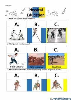 Interactive worksheet Canary Islands Day 2021 1ESO