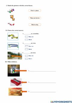 Interactive worksheet The city place
