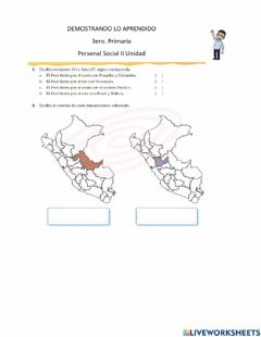 Interactive worksheet Demostarndo lo aprendido