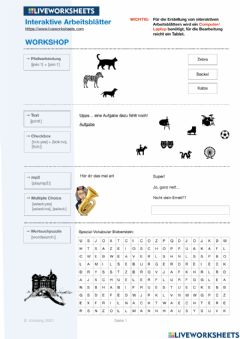 Ficha interactiva HOW TO Liveworksheets