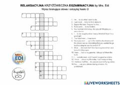Interactive worksheet Egzamin