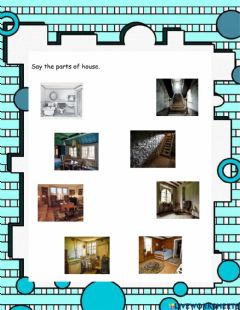 Ficha interactiva The Old House