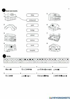 Interactive worksheet Young explorers - Unit 3 - Extension