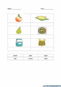 Interactive worksheet Module 5: Eating Right