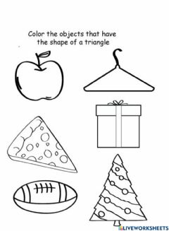 Interactive worksheet Triangle