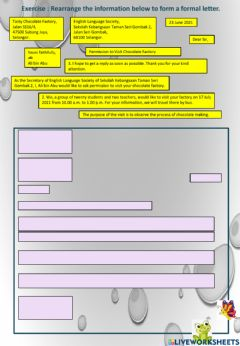 Interactive worksheet Unit 9: a heart of gold