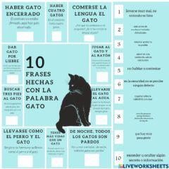 Interactive worksheet Frases Hechas y Modismos