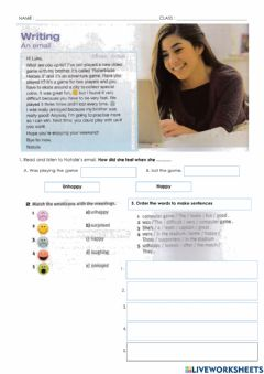 Interactive worksheet Unit 8: Good Luck and Bad Luck