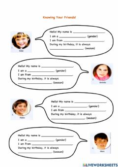 Interactive worksheet Get Smart Year 3 Page 44