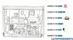 Interactive worksheet Where is the...?