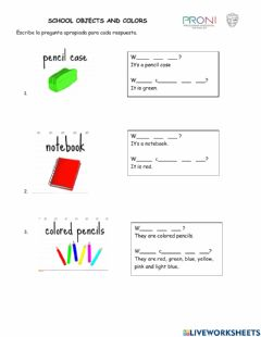 Interactive worksheet What is it