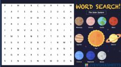 Interactive worksheet The Solar System Work Search