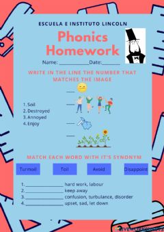 Interactive worksheet Phonics Diphthong oi and oy