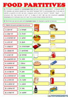 Interactive worksheet Container