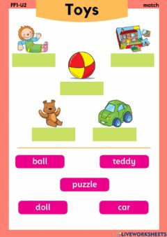 Interactive worksheet Family and friends 1 unit 2 vocabulary