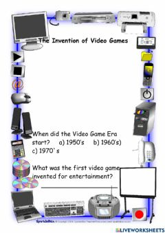 Ficha interactiva The Invention of Video Games