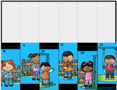 Interactive worksheet Counting by 5's