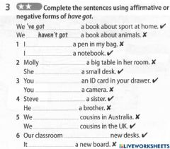 Interactive worksheet Year 5 world of knowledge