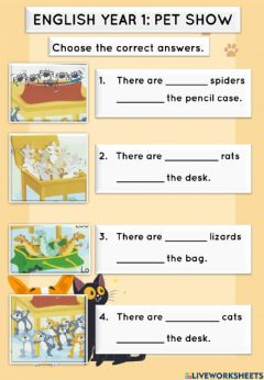Interactive worksheet Super Minds Student's book page 36