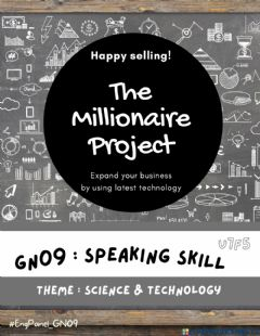 Interactive worksheet GN09 - Speaking Skill - The Millionaire Project