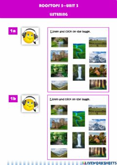 Interactive worksheet Rooftops-unit3-countryside-was-were