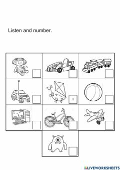 Interactive worksheet Unit 2 : Let's Play