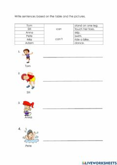 Interactive worksheet Year 2 Unit 8 The Robot